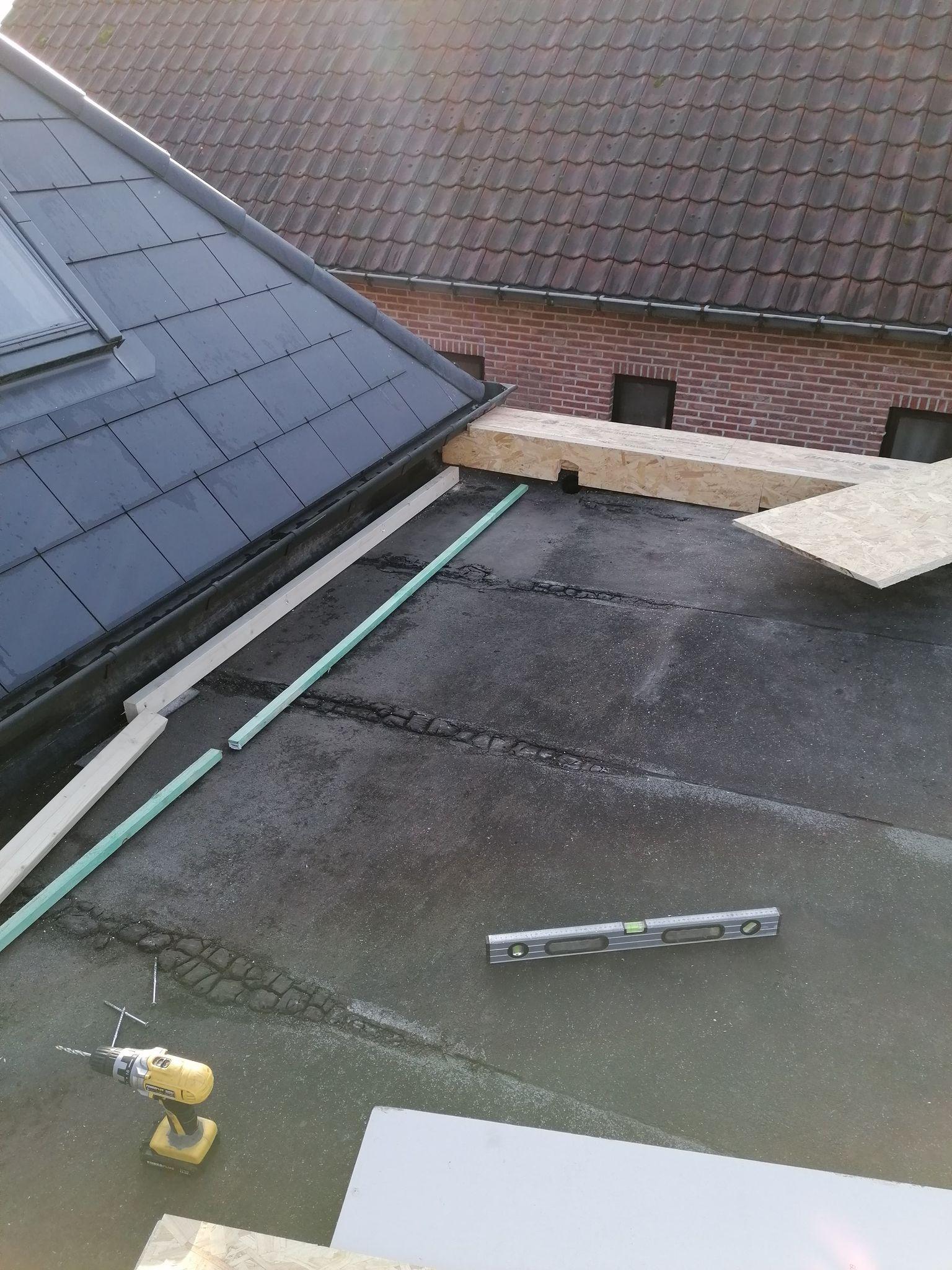 renoveren plat dak