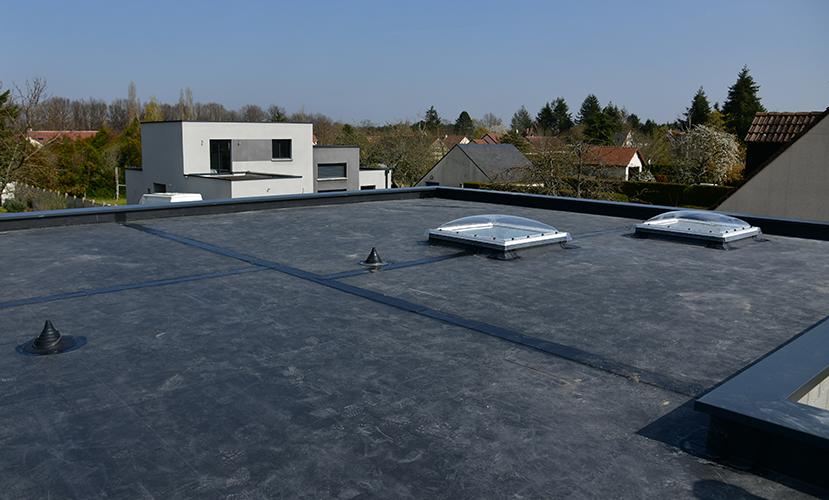 plat dak nieuwbouw